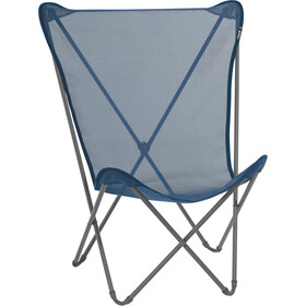 Lafuma Mobilier Maxi Pop Up Folding Chair with Cannage Phifertex, ocean